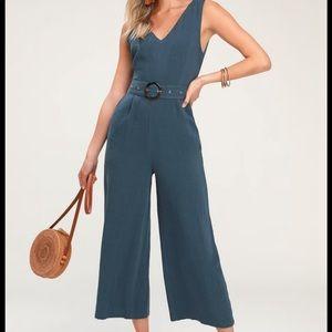 Lulus's Culotte jumpsuit